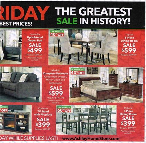 Ashley Furniture Black Friday Ads 2016 couponshy.com