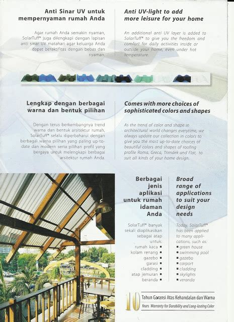 Baut Multiroof harga genteng metal multiroof atap solartuff