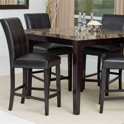 high pub dining table palazzo 5 counter height dining set dining sets