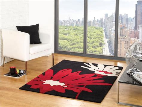 Maples Exploded Floral Rug The Beautiful Of Black Floral Rug For Decorate The House