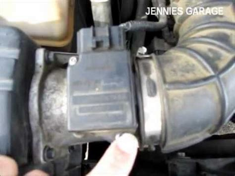 how to clean a ford maf sensor simple & effective youtube