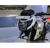 TVS Apache RTR 200 Fi Ethanol Headlight At 2018 Auto Expo