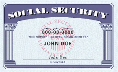 real social security card template presidential candidates should reform plans