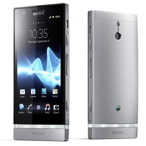 mobile phone sony xperia sony xperia p android phones announced gadgetsin