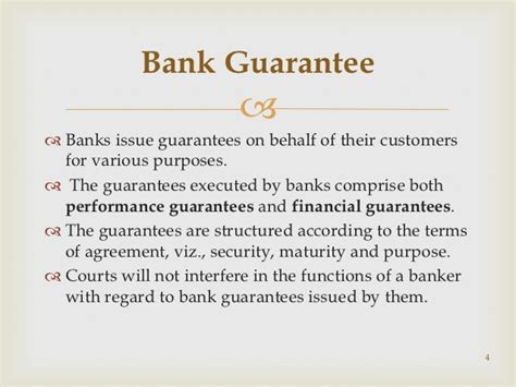 Financial Guarantee Vs Letter Of Credit Letter Format 187 Bank Guarantee Letter Format Free Resume Cover And Resume Letter Sles
