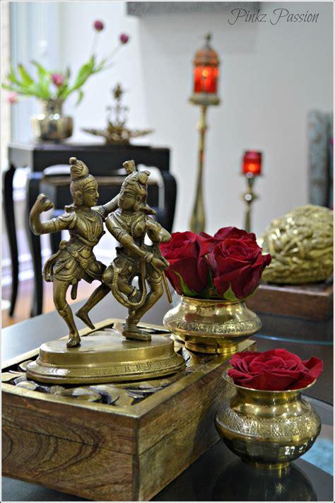 indian decor brass vignette home decor shiva