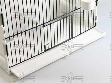 frontali gabbie gabbia esposizione 1 porta e frontale nero 2g r