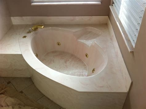 cultured marble bathtub ugly cultured marble jacuzzi tub kitchen and bath