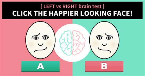 brain test italiano left vs right brained 5 second brain test vonvon