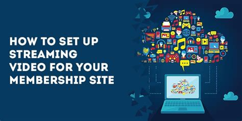 configure your organization s website set up an arcgis organization how to set up streaming video for your membership site