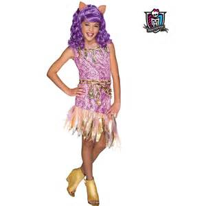 Monster high haunted clawdeen wolf costume wholesale monster