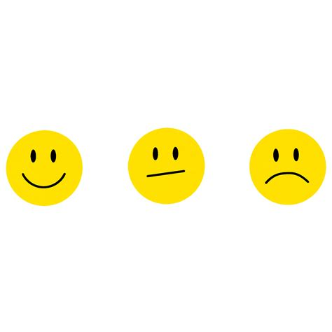 Sticker Smiley Traurig by 180 Gelbe Smiley Face Sticker 248 2cm L 228 Cheln Neutral