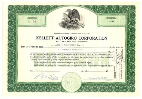 best solutions of stock certificate template for your stock