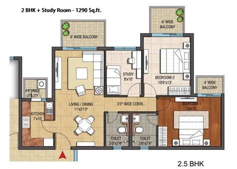 2 bhk apartment floor plans hero homes mohali site plan floor plans and cluster plan