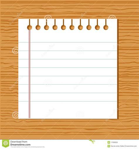 vector notebook paper stock vector illustration  notebook