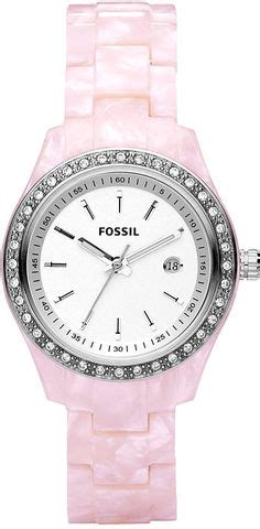 Fossil Boyfriend Silver Soft Blue Leather watches white guess s u0032l3