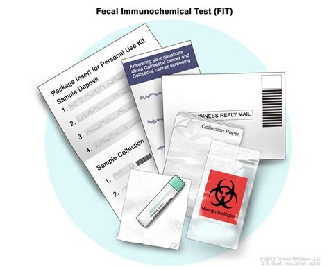 Fit Stool Testing Kit by Definition Of Immunoassay Fecal Occult Blood Test Nci