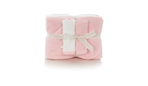 Palmerhaus Baby Towel Pink george home nursery towel set pink baby george at asda