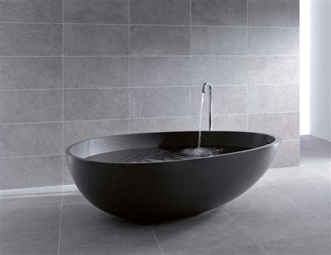 designer bathtubs black bathtubs for luxury bathroom ideas