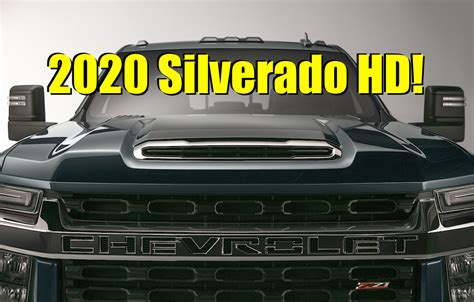 2020 Chevrolet Hd Gas Engine by Official 2020 Chevy Silverado Hd 3500 Z71 Top Five