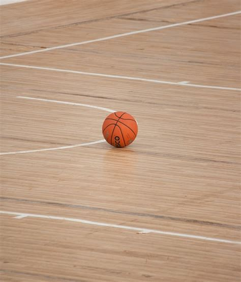 wood ball floor l free photo basketball ball sports court free image