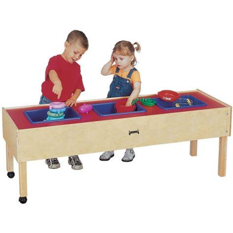 jonti craft 3 tub sensory table sand water table