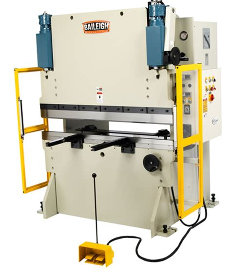 baileigh bp  nc hydraulic press brake