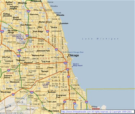 chicago map in usa quechua crafts chicago il map