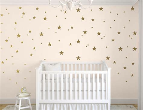 Baby Room Decals For Walls by Gold Decals Wall Decal Nursery Wall Decals