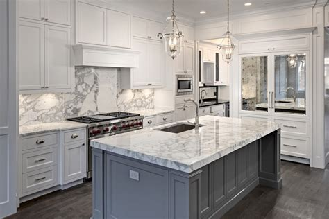 white kitchen cabinets with white marble countertops 63 beautiful traditional kitchen designs designing idea