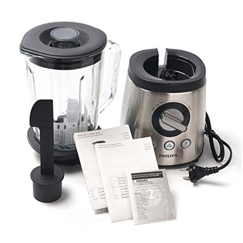 Blender Philips Crusher philips hr2096 avance collection glass jar smoothie