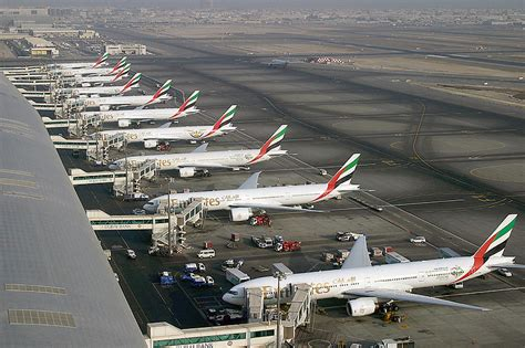 emirates cgk dxb dubai international airport is a major aviation hub in the