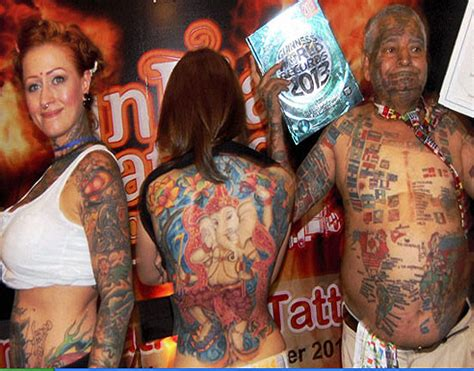 tattoo convention delhi photos world news photo gallery picture news gallery