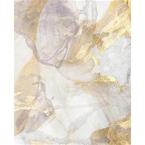 golden horizon canvas wall art with silver leaf