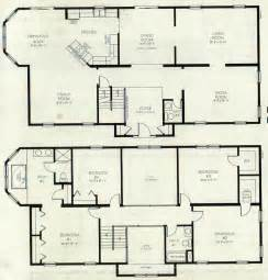 2 Story House Blueprints Two Storey House Plans On Storey House