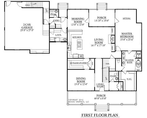 floor plan for house houseplans biz house plan 3452 a the elmwood a