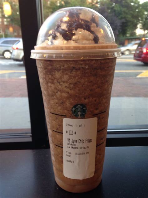 Venti Java Chip Frappuccino With Double Extra