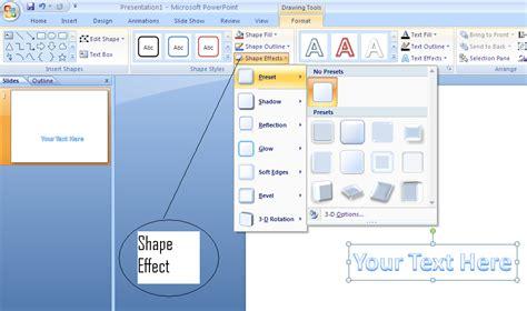 Membuat Power Point Keren 2007 | membuat teks keren menggunakan microsoft powerpoint 2007