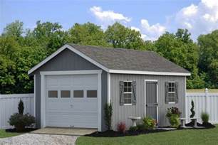 Garage Kits Pa Prefab Garage Packages From Sheds Unlimited In Lancaster