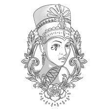 seriously alexandra burke copied rihanna s queen image gallery nefertiti tattoo