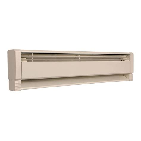 electric baseboard heater element fahrenheat 34 in 750 watt electric hydronic baseboard