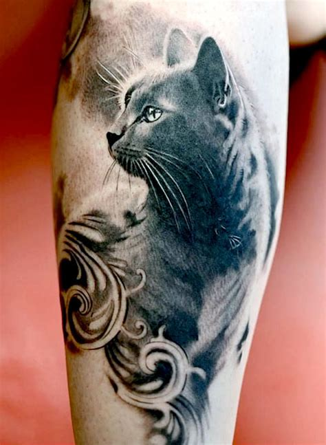 tattoo cat 65 amazing cat tattoo designs band of cats