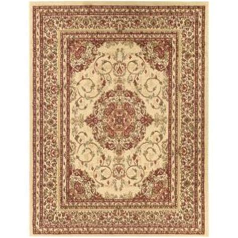 5x7 Area Rug Home Depot Ottomanson Traditional Medallion Beige 5 Ft 3 In X 7 Ft Area Rug Ryl1072 5x7 The
