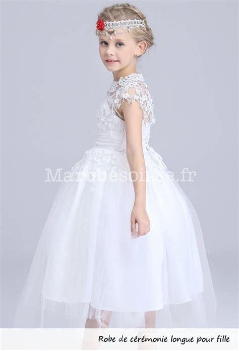 Robe Dentelle Fille 2 Ans - robe de soir 233 e blanche pour fille cort 232 ge
