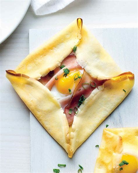 Crepe Square by Ham And Egg Crepe Squares