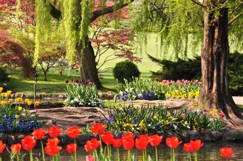 immagini giardini fioriti 25 posti nel mondo che diventano incredibili giardini