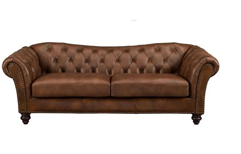 top grain leather sofas mona full top grain brown leather sofa
