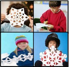 Ellinee The Paper Snowflake - snowflake crafts on paper snowflakes