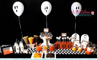 ghost themed halloween party ghost party ideas a to zebra celebrations