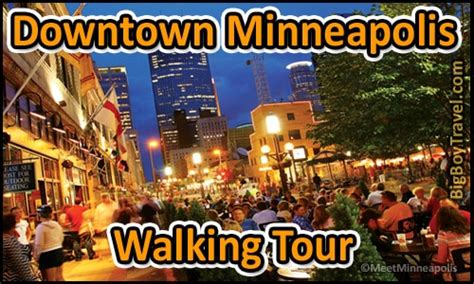 downtown minneapolis walking  map